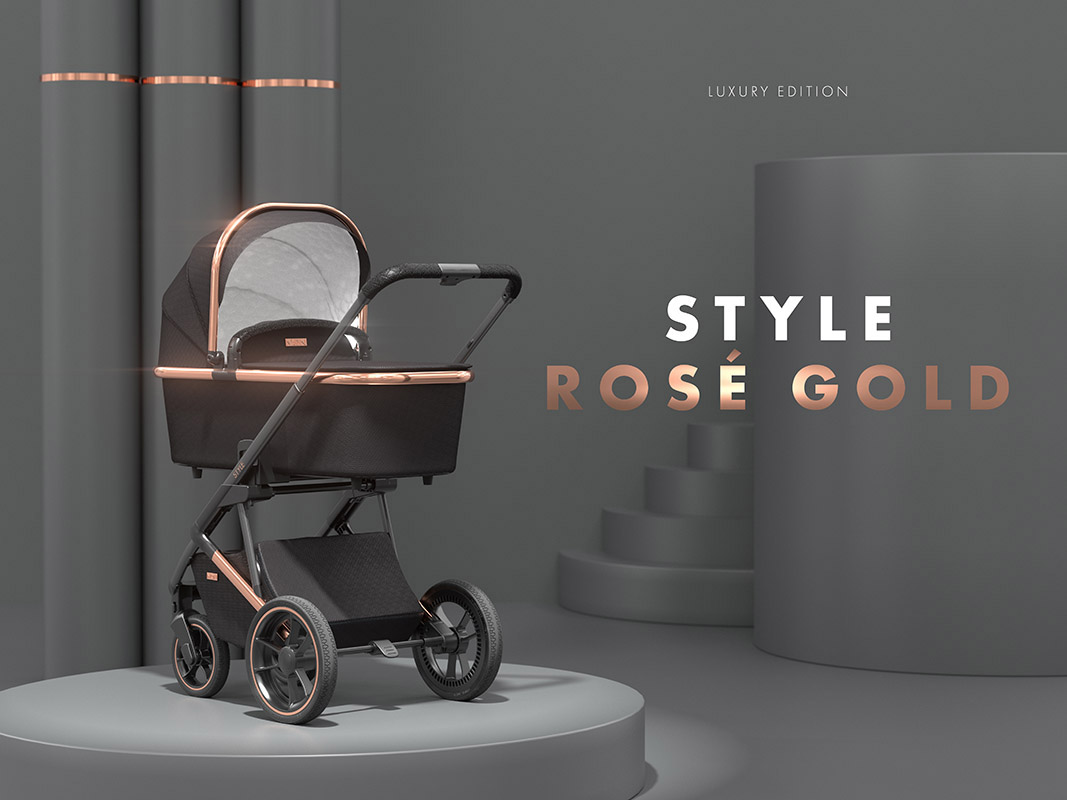 moon style rose gold